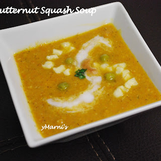 Curried Butternut Squash Soup.
