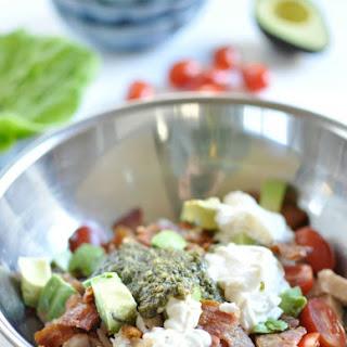 BLTA Pesto Chicken Salad