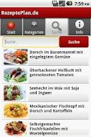 Screenshot of RezeptePlan.de