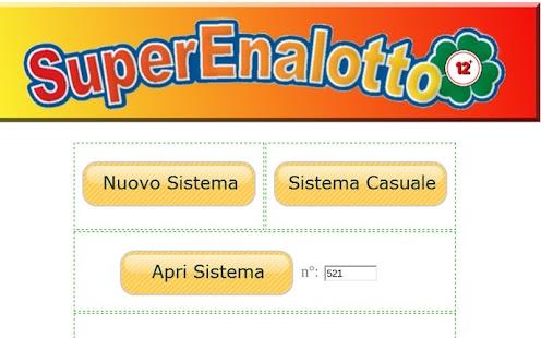 SuperEnalotto 12+ - screenshot thumbnail