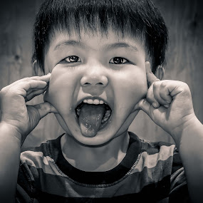 by Mark Andres - Babies & Children Child Portraits ( , black and white, b&w, child, portrait )