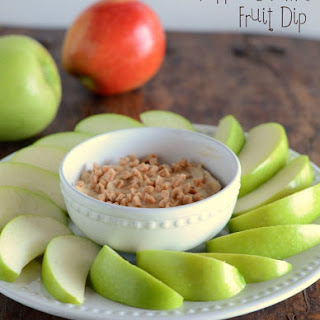Toffee Caramel Fruit Dip.