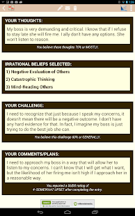 Cognitive Diary CBT Self-Help - screenshot thumbnail