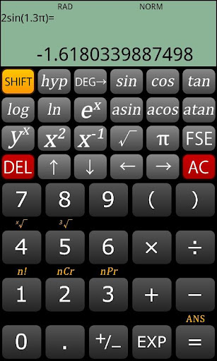 ScientificCalculator Allcalc P