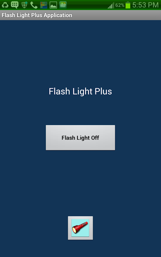 Brightest Flashlight AtoZ ™- screenshot