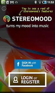 Stereomood - screenshot thumbnail
