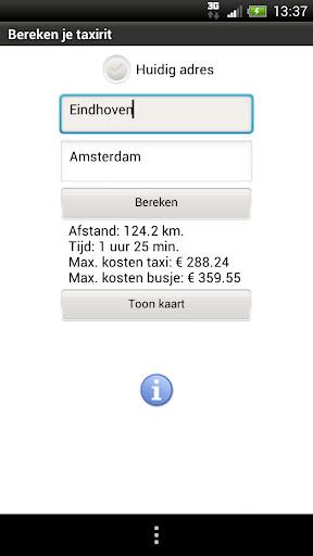 Taxi Prijs NL 1.1 screenshots 2