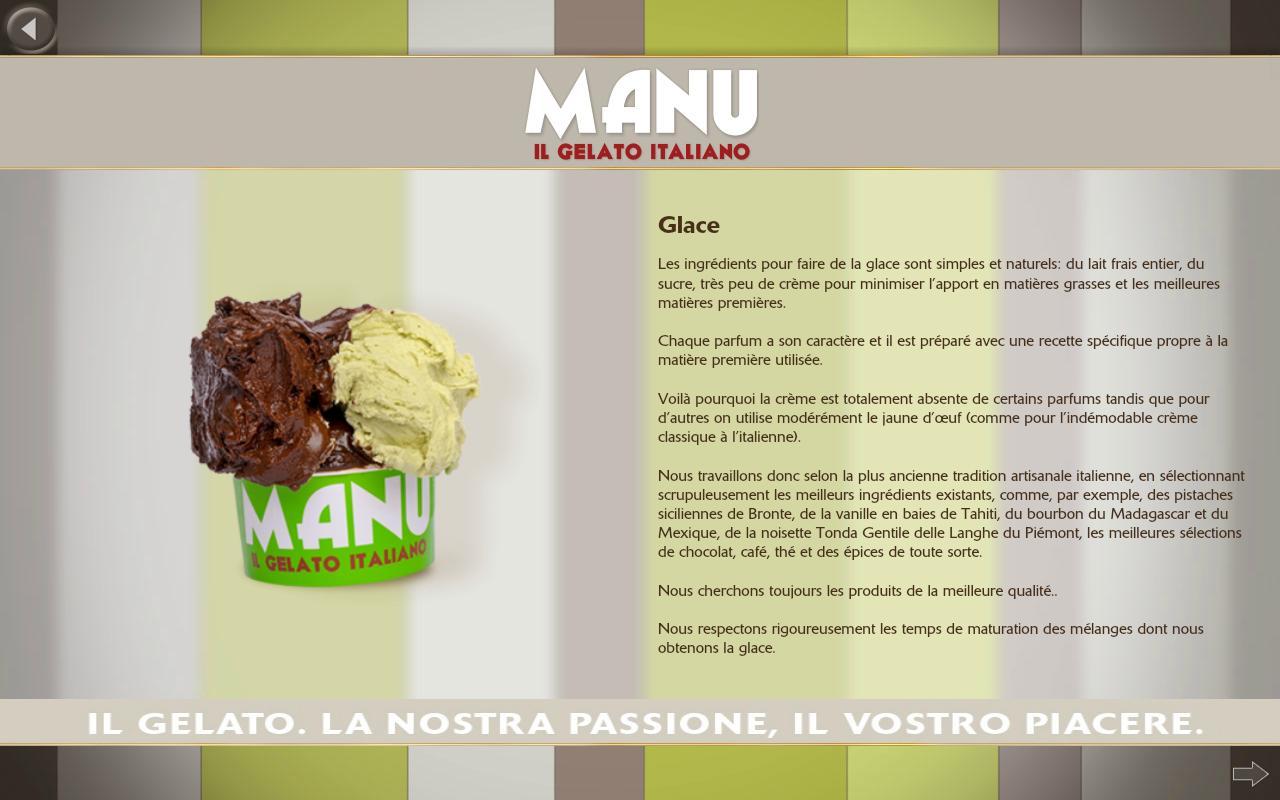 Manu Gelato - screenshot
