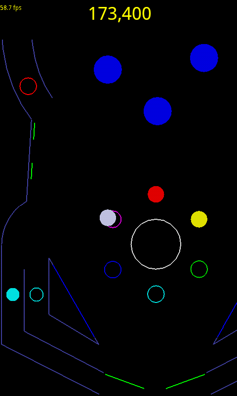 Vector Pinball - screenshot