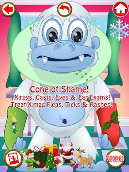 Christmas Pet Vet Doctor FREE apk screenshot
