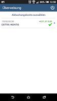Screenshot of TARGOBANK Mobile Banking