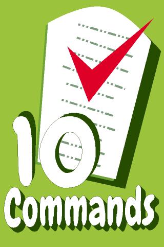 Ten Commandments 10 Commands- screenshot