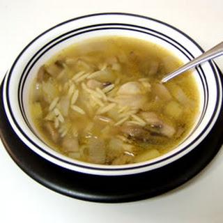 Mushroom and Leek Soup