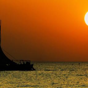 mandvi  beach by Chhaditya Parikh - Landscapes Sunsets & Sunrises