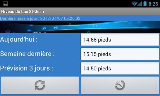 Niveau du Lac St-Jean- screenshot thumbnail