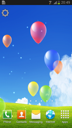 Floating Balloons LWP