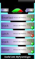 Screenshot of Yes No Diet Tracker FREE