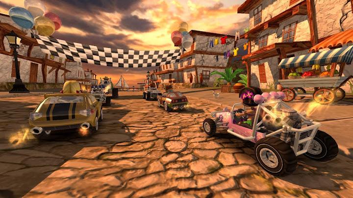 Beach Buggy Racing Android App Screenshot