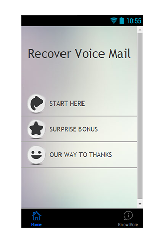 Recover Voice Mail Guide