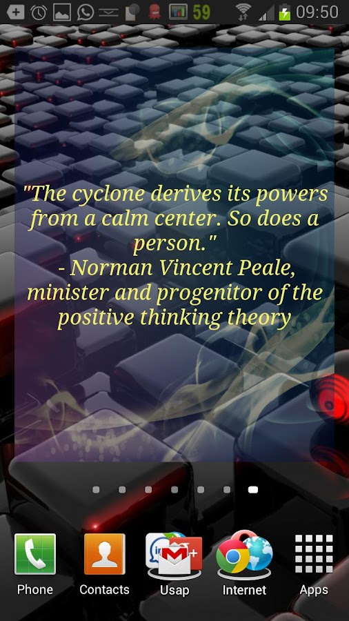 Active Force (Quotes Widget)- screenshot