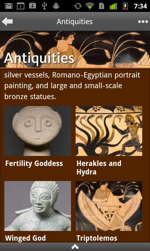 Highlights of the Getty Museum - screenshot