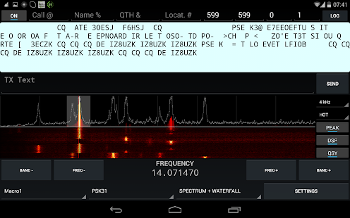 KX3 Companion for Ham Radio- screenshot thumbnail