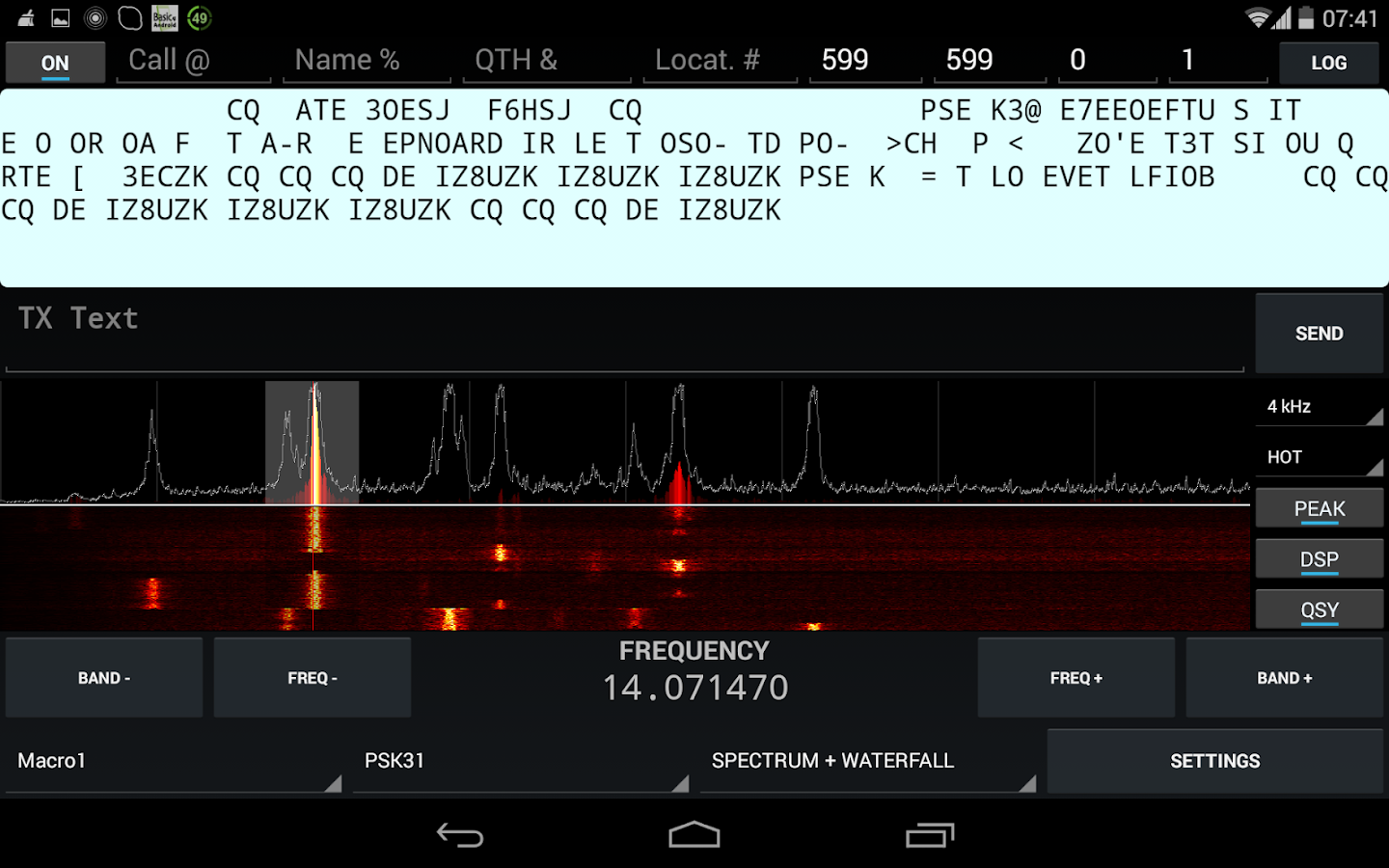 KX3 Companion for Ham Radio- screenshot