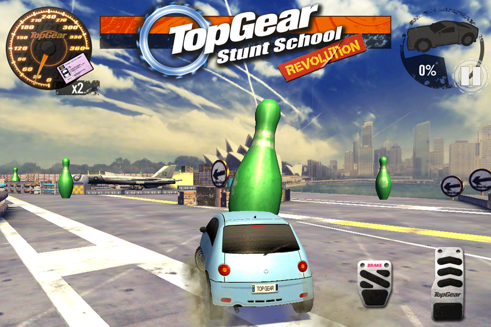 Top Gear: Stunt School SSR screenshot #10