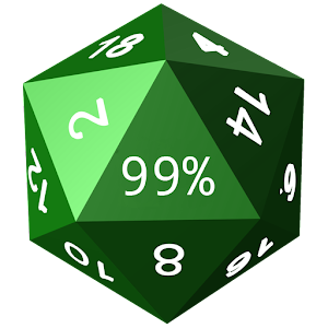 8 sided dice simulator d200 battery