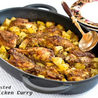 Roasted Chicken Curry.