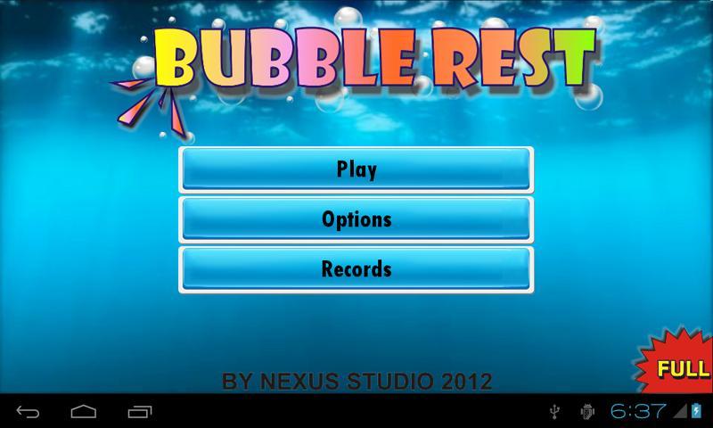 Bubble Rest - Take a Pause - screenshot
