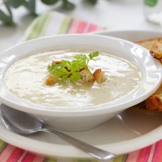 Smooth and Satiny Celery Soup