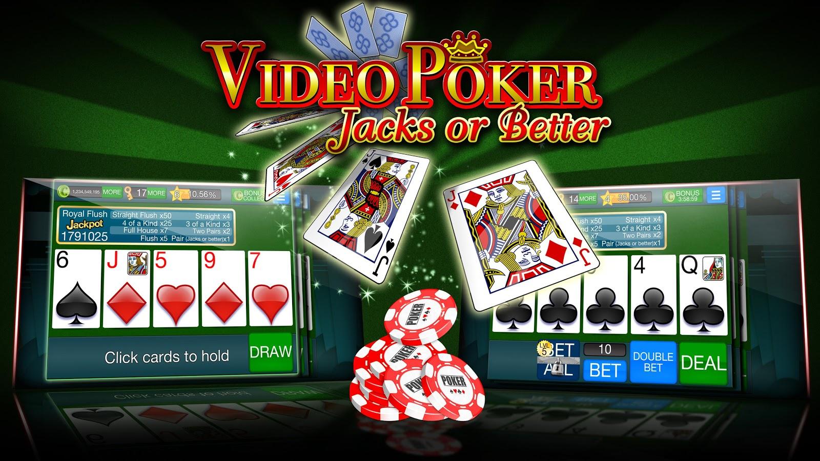 Free Video Poker Jacks Or Better Games