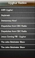 Screenshot of Uyghur Radio Uyghur Radios