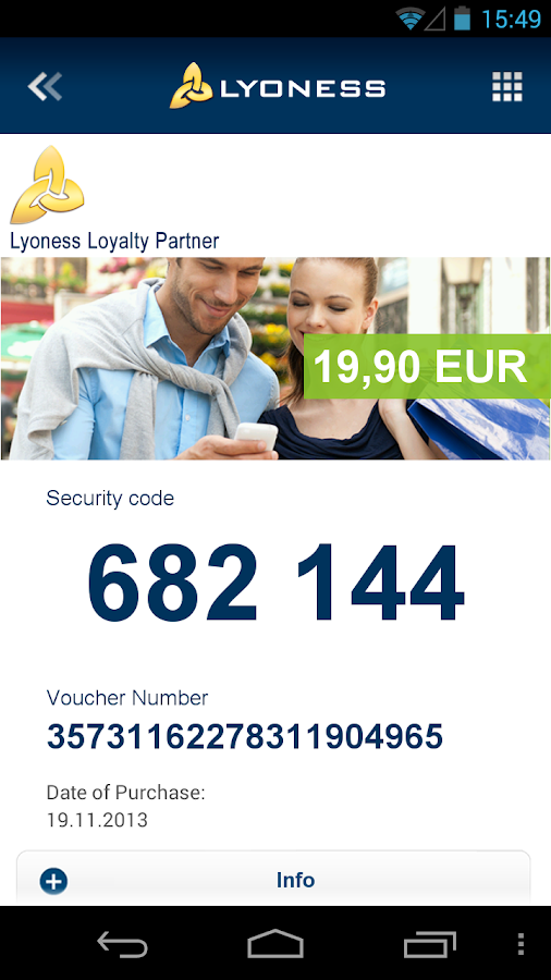 Lyoness Mobile - screenshot