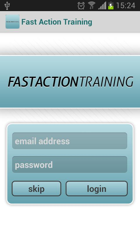 Fast Action Training - screenshot