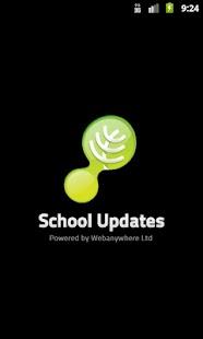 School Updates- screenshot thumbnail