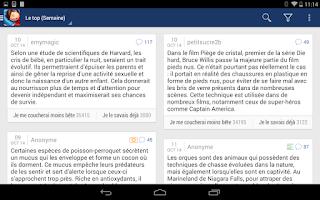 Screenshot of Se Coucher Moins Bête