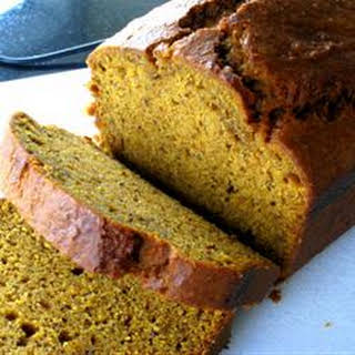 Super Moist Pumpkin Bread.