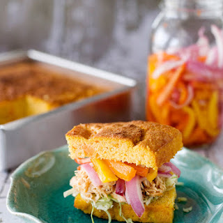 Slow Cooker BBQ Chicken Sandwiches