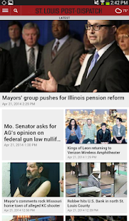 St. Louis Post-Dispatch- screenshot thumbnail