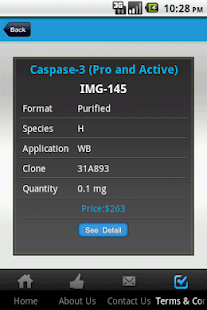IMGENEX Corp.– Product Catalog - screenshot thumbnail