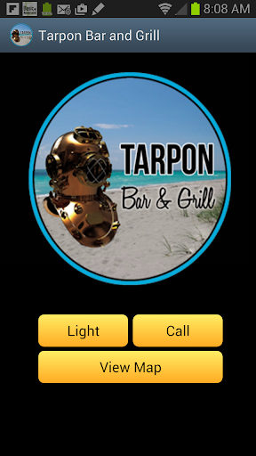 Tarpon Bar Grill Flashlight