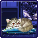 Sleeping Kitty Live Wallpaper icon