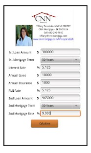 Justin Whalen's Mortgage Cal - screenshot thumbnail