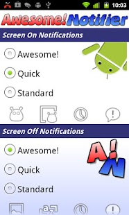 Awesome! Notifier - screenshot thumbnail