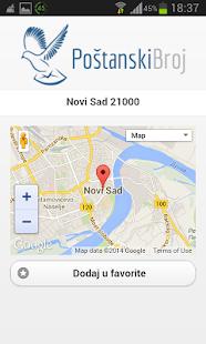 Poštanski Broj - screenshot thumbnail