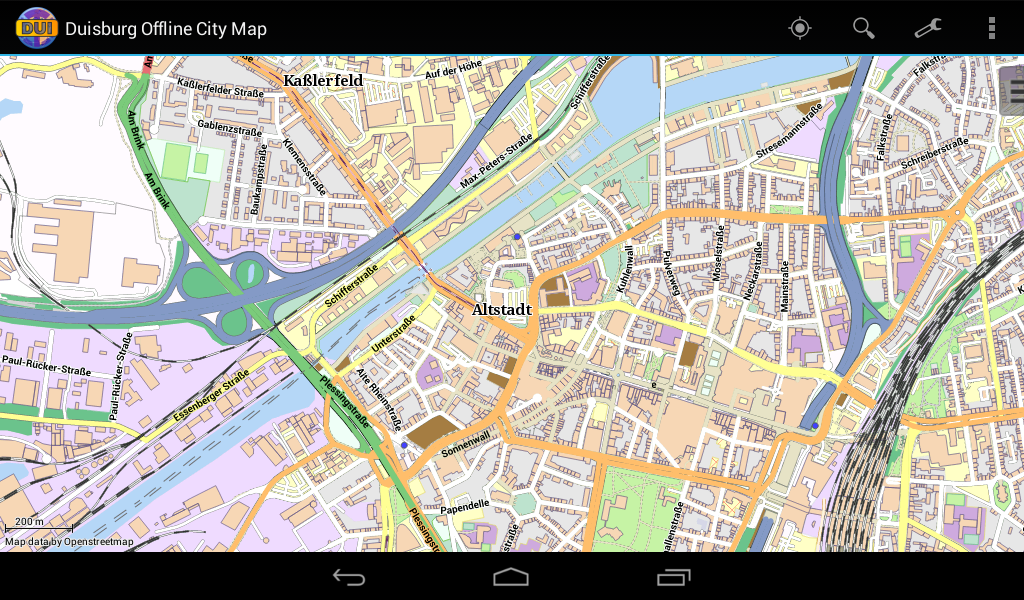 Duisburg Offline City Map- screenshot
