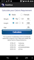 Screenshot of My Gym Pocket Personal Trainer