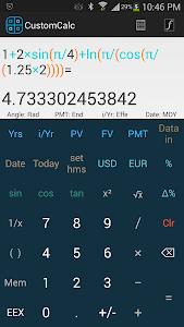 CustomCalc Pro Scientific Calc v1.32.05